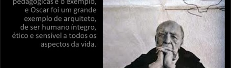 Homenagem da ABEA a Oscar Niemeyer