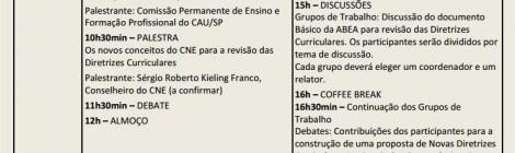 SEMINÁRIO NACIONAL SOBRE AS DIRETRIZES CURRICULARES - 27-28 de set.