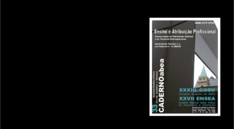 --->Lançada mais uma edição digital: Caderno 33 - Ensino e Atribuição Profissional.