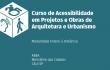 Curso de Acessibilidade em Projetos e Obras de Arquitetura e Urbanismo