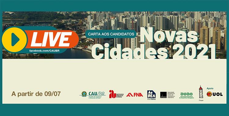 Debates no Projeto Novas Cidades 2021