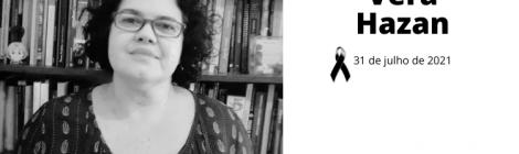Nota de pesar - Vera Hazan